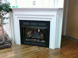 modern vent free gas fireplace