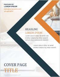 Ms Word Page Designs 5 Best Printable Cover Page Templates For Ms Word Ms Word