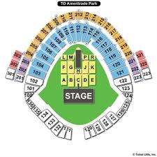 19 Images Td Ameritrade Park Seating Chart