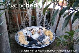 round outdoor day bed hanging