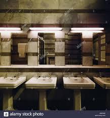 Public bathroom mirror Modern Public Bathroom Stock Image Alamy Public Bathroom Mirror Stock Photos Public Bathroom Mirror Stock