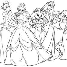 Small Picture Coloring Pages Free Disney Princess Archives Mente Beta Most