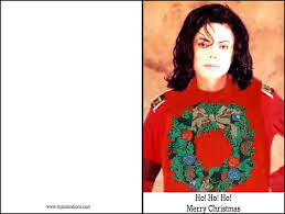 Michael Jackson Christmas Cards