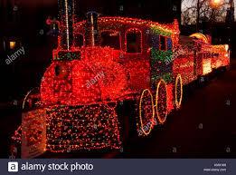 Holiday Lights Train Train In Lights Festival Of Lights Holiday Parade Salem