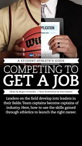 a student athlete s guide competing to get a job an ncaa by amy wimmer schwarb