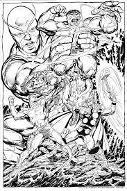 John Byrne Draws Hulk Namor Vs