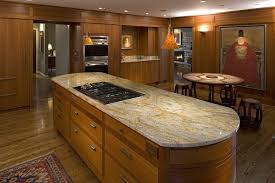 hawaii granite kitchen modern with oval island contemporary cabinet