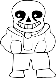 Undertale Coloring Pages Sans Coloring Pages Coloring Pages