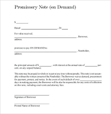 Free Mortgage Promissory Note Template Interest Simple No Sample