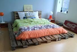 simple diy pallet bed lovely pallet platform bed with 42 diy recycled pallet bed frame