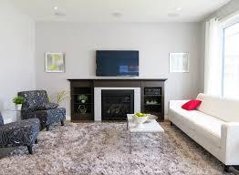basic tv over fireplace living room furniture layout homedecor