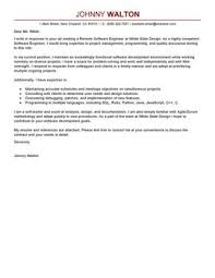 Cover Letter For Experienced Software Engineer Leading Computers Technology Cover Letter Examples Resources