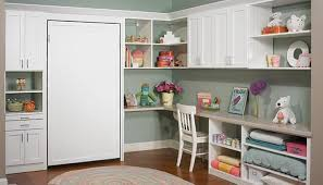 ... space added for childhood sleepovers using Murphy bed