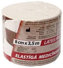 <b>Бинт эластичный</b> медицинский <b>Lauma</b> Medical Модель 2 (3,5 м х ...
