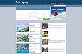 Dreamweaver Website Templates Enchanting Free Travel Web Templates Travel Agency Web Templates PHPJabbers