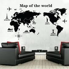 world map wall poster poster letter world map e scratch map vinyl art decals mural living world map wall poster