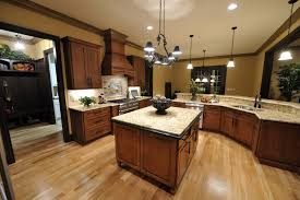 kitchens with dark cabinets and tile floors. Brilliant Tile What Color Hardwood Floor With Dark Cabinets Brown Throughout Kitchens With And Tile Floors