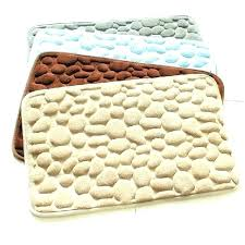 large rubber backed bath mats bathroom rugs floor mat rug pebbles natural bottom space memory cotton rubber backed bath mat sets bathroom rugs
