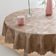 luxury round table cloth top damask jacquard tablecloth waterproof dining table cover mat for home kitchen dinning decor party 60 round tablecloth wedding