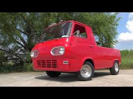 America's lowest priced pickup - Ford Econoline 1961 COE - YouTube