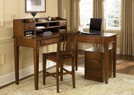 image of best small computer desk with hutch best computer furniture