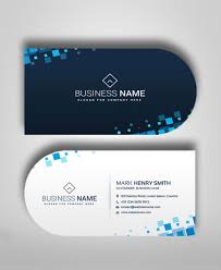 Buisness Card Online Half Circle Business Card