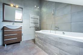 types of bathroom tiles