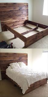 My Husband made this bed for me :))) solid black walnut! https