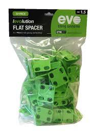 levolution flat spacer 1 5mm 50 pack