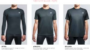 Mens Apparel Sizing Guide New Balance Faqs