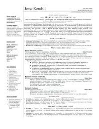 Chemical Engineer Resume Template Download Chemical Engineer Resume ...