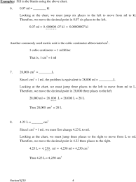 Hfcc Math Lab General Math Topics 1 Metric System