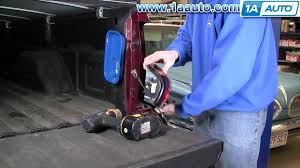 how to install replace taillight chevy silverado gmc sierra 03 06 1aauto com you