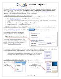 ... Vibrant Google Resumes 8 Examples Resume ...