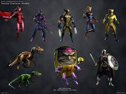 ArtStation - Marvel Avengers Alliance Tactics Various Characters, Kelsey  Martin