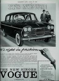 145 Singer Vogue 1962 66 Dtca Website