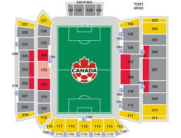 Bmo Field Detailed Seating Chart Mnt V Dma Canada Soccer