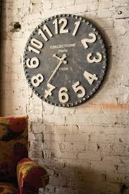 over sized wall clocks large vintage wall clocks uk