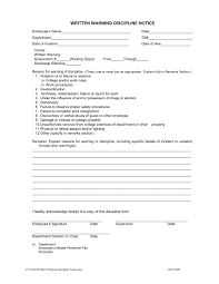 9 Employee Warning Letter Examples Pdf Word