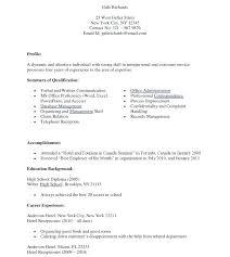 Secretary Receptionist Resume Receptionist Resume Templates Samples