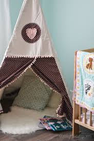 DIY Teepee Play Tent Tutorial by The DIY Mommy