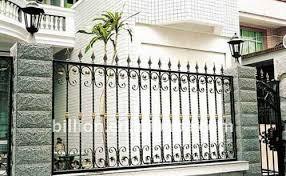 fence design. Horizontal Steel Fence Design(factory) Design