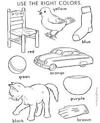 Color Worksheets For Kids#511982