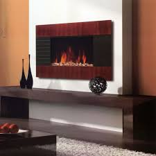 gany wall mounted electric fireplace heater with remote small frame for tv