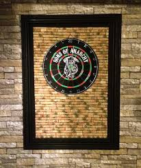 dart board backing cool man cave ideas to try this week diy projects