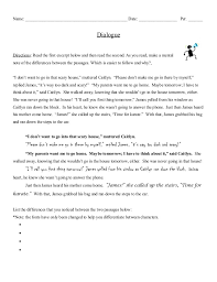 example essay dialogue co dialogue notes examples