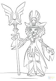 Skylanders Imaginators Coloring Pages Color Pages Free Coloring Page