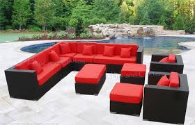stylish sectional patio furniture eurolounger outdoor wicker sectional sofa patio furniture