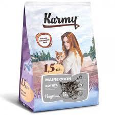 <b>Корм Karmy</b> Kitten Main Coon для Котят Породы Мэйн Кун купить ...