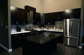 modern kitchen black and white. Black Kitchen Ideas 5 Tags Modern With Cabinets Slate Counters Wall Street Random Interlocking Glass . And White